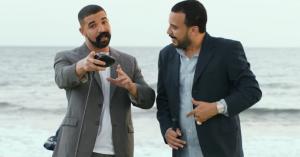 Drake og French Montana fjoller i fake moustacher i ny video til 'No Shopping'