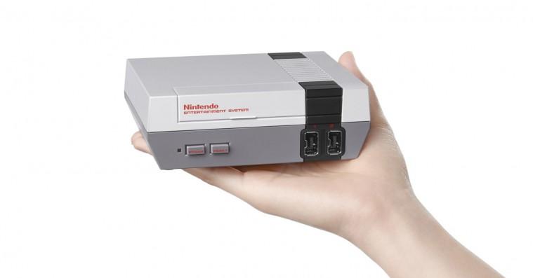 Nintendo relancerer NES i mini-udgave med 30 klassiske spil bygget ind