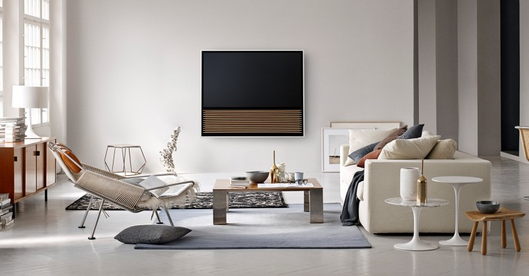 bang olufsen 4k tv hylder det klassiske look omfavner ny teknologi nyhed. Black Bedroom Furniture Sets. Home Design Ideas