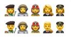 Apple nominerer fem nye professions-emojis med mulighed for at vælge køn