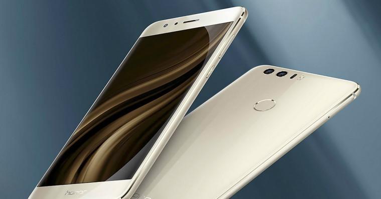 Fem førstehåndsindtryk af den nye Huawei Honor 8: Elegant, sikker og hurtig