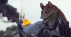 'Star Wars: Rogue One' spoof-trailer sakser upassende meget Jar Jar Binks ind
