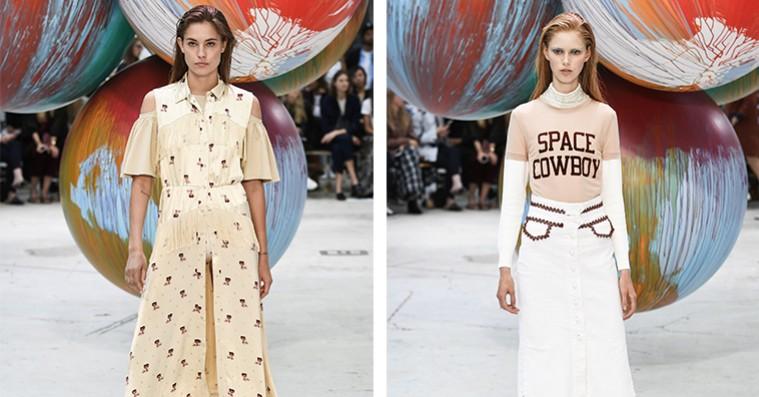 Copenhagen Fashion Week: Ganni spillede på alle tangenter – og lykkedes med bravur