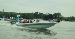 Kæmpe lanceringsevent for Honor 8 med RIB boats, isskulpturer og Tove Styrke-koncert