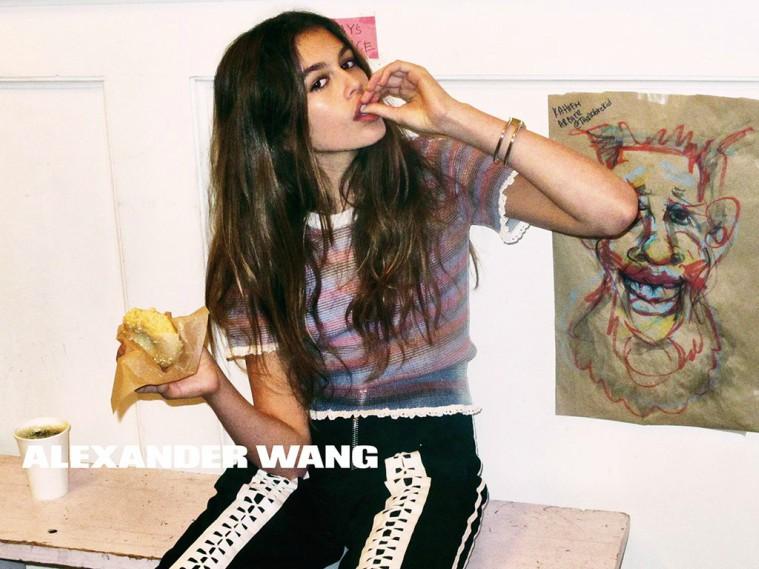 Kaia-Gerber-Alexander-Wang-Campaign-Spring-2016