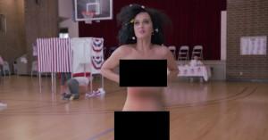 Patrioten Katy Perry stemmer nøgen i Funny or Die-kampagnevideo