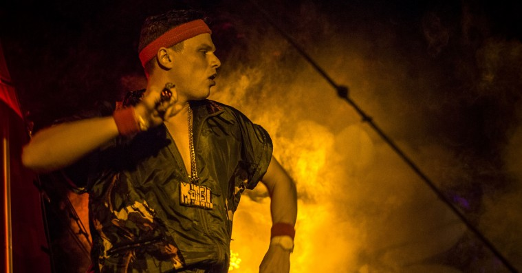 Marvelous Mosell lukkede Karrusels Startfest med charmefyldt rap-koncert