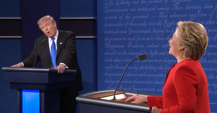 Chance the Rapper, Lena Dunham og Miley Cyrus reagerer på nattens præsidentdebat