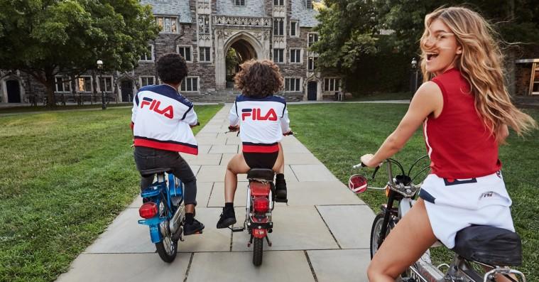 Der er fart på Filas nye kollektion – lavet i samarbejde med Urban Outfitters
