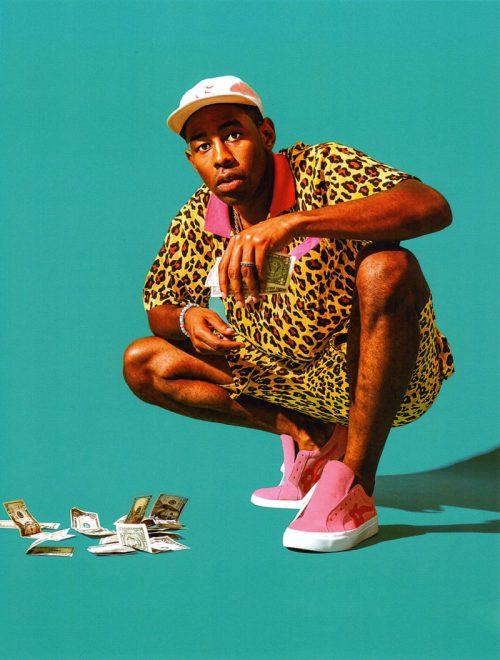 Tyler, the Creator med Golf le Fleur-skoene på