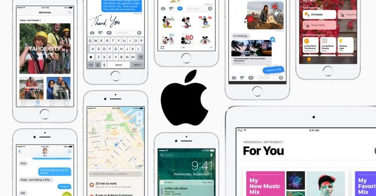 iOS 10 lander i dag – her er tre centrale grunde til at opdatere