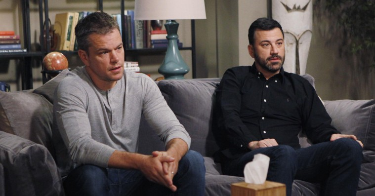 Matt Damon vs. Jimmy Kimmel – få overblikket over deres 11 år lange fejde