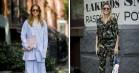 Street style fra New York: Oversize, mønsteramok og flere trends