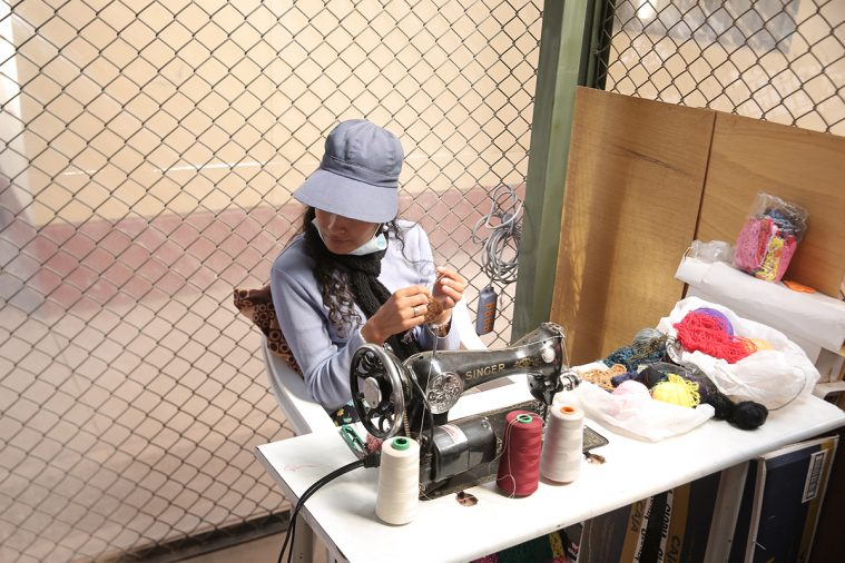 En af de indsatte kvinder i Cusco-fængslet i Peru