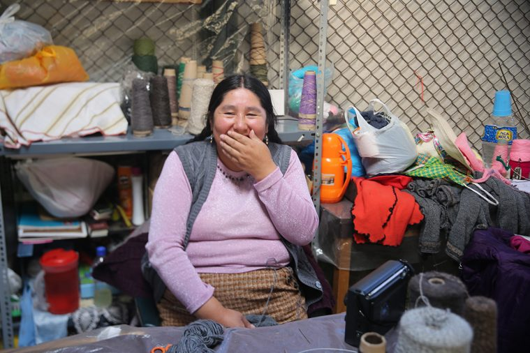 En kvinde i Cusco-fængslet