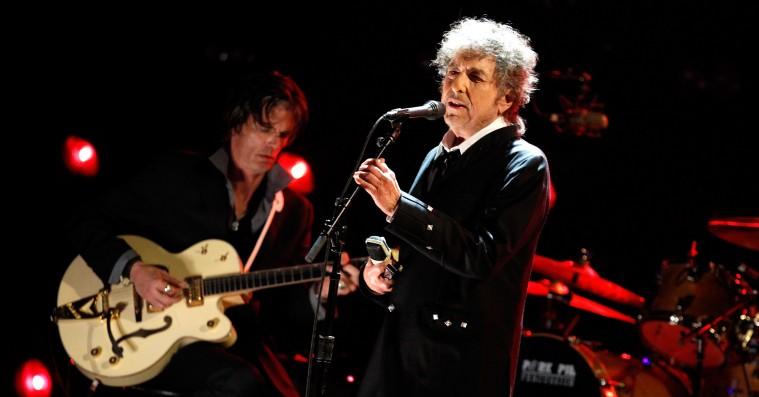 Bob Dylan vinder Nobelprisen i litteratur