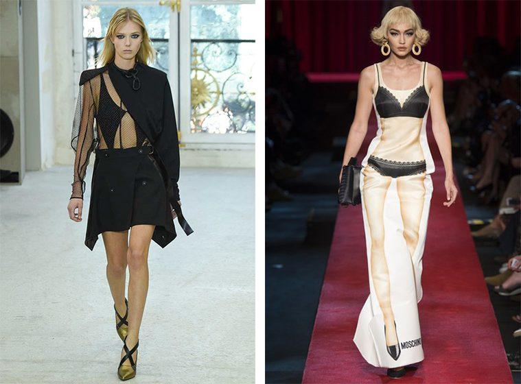 Louis Vuitton og Moschino