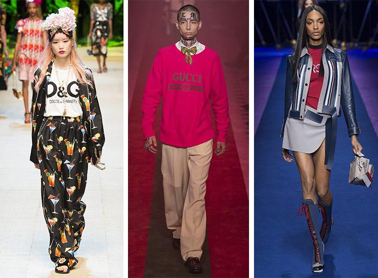 D&G, Gucci og Versace