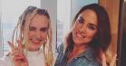 Mø blev genforenet med sit idol: Spice Girls' Melanie C