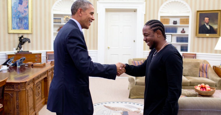 Barack Obama afslører sine fem yndlingsrappere
