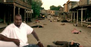 Kanyes megalomani kolliderer med HBO's 'Westworld' i Jimmy Kimmel-spoofen 'Kanye Westworld'