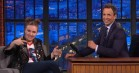 Lena Dunham fortæller om sin kærlighed til Hillary Clinton i 'Late Night with Seth Meyers'