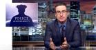 John Oliver spidder det amerikanske politi i knivskarpt indslag