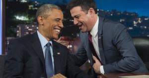 Obama læser mean tweets – og leverer masser af andet guld hos Jimmy Kimmel