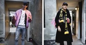 Street style: Tommy Hilfigers 90'er-kollektion ramte hylderne hos Mads Nørgaard