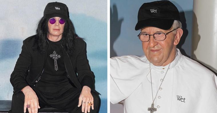 Paven og Ozzy Osbourne er vilde med Wet-merchandise