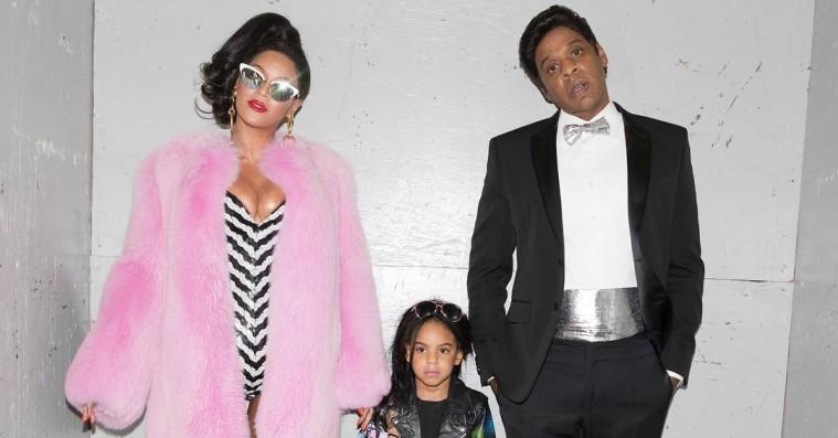 Genistreg: Beyoncé, Jay Z og Blue Ivy er Barbie-dukker til halloween