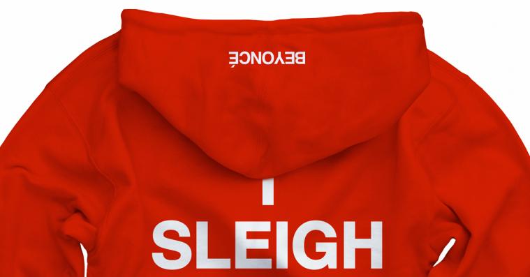 Beyoncé laver selvironisk jule-gear – I sleigh