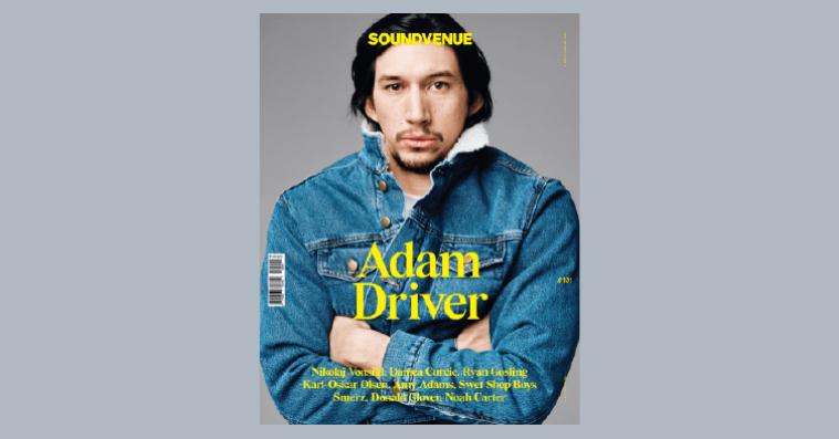 Nyt Soundvenue ude nu med Adam Driver på forsiden