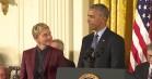 Ellen DeGeneres laver stjernespækket #MannequinChallenge i Det Hvide Hus