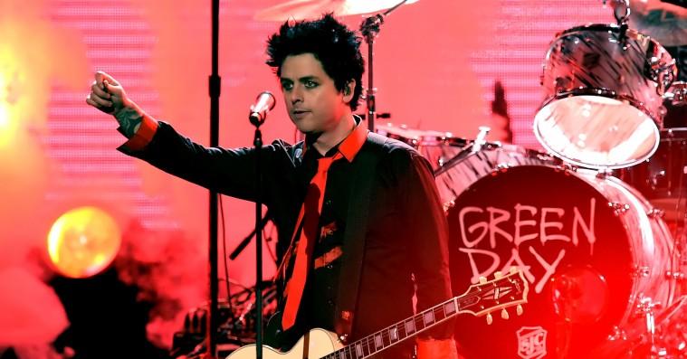 Green Day til American Music Awards: »No Trump, No KKK, No fascist USA«