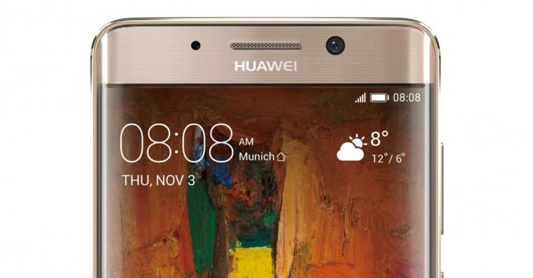 Huawei lancerer Mate 9 Pro – og der er ikke sparet på noget