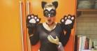 Lena Dunham vinder halloween i Hollywood: Klæder sig ud som »grabbed pussy«