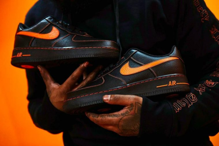 VLONE's bud på Nike Air Force 1