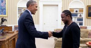 Quiz: Hvem sagde det – Obama eller en af hans yndlingsrappere?