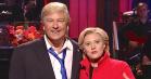 Alec Baldwin og Kate McKinnon træder ud af rollerne i sidste præsidentsketch fra SNL
