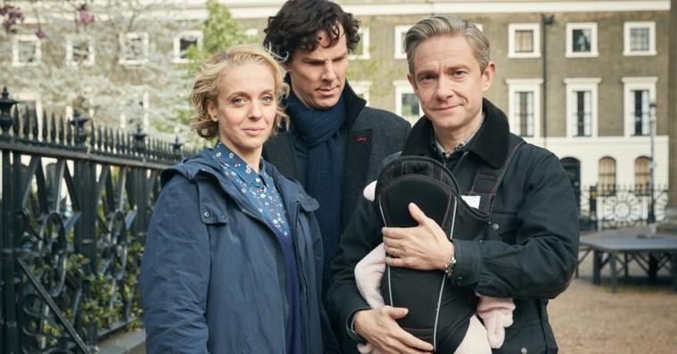 'Sherlock' sæson 4: Se billeder af den nye skurk og nybagte daddy Watson