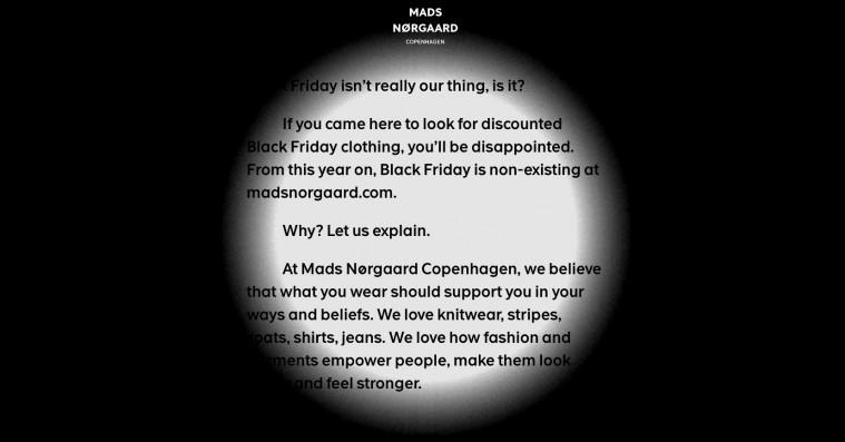 Danske brands lukker webshops i protest mod Black Friday