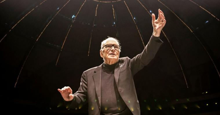 I audiens hos legenden Ennio Morricone: »Musikken holder mig i live«