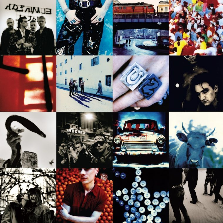 Coveret til 'Achtung Baby'.