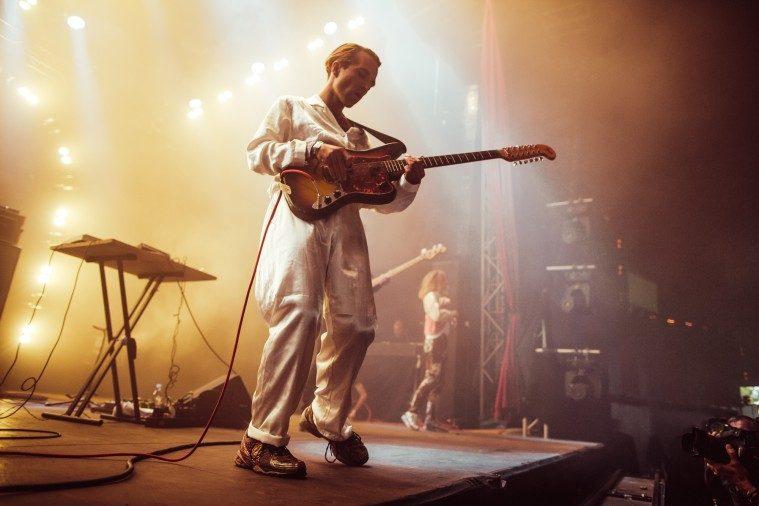 Jannis på Roskilde Festival (Foto: Samy Khabthani)