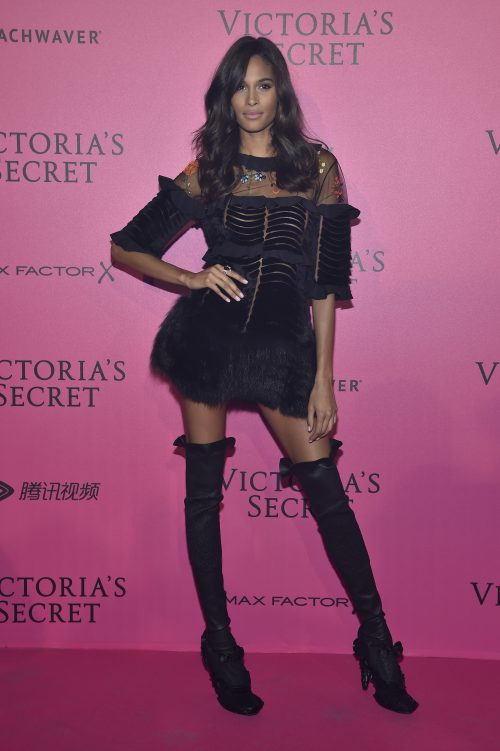 PARIS, FRANCE - NOVEMBER 30: Cindy Bruna attends the 2016 Victoria's Secret Fashion Show after party on November 30, 2016 in Paris, France. (Photo by Pascal Le Segretain/Getty Images for Victoria's Secret)