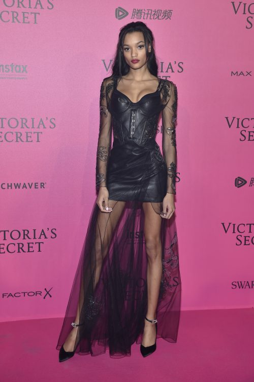PARIS, FRANCE - NOVEMBER 30: Lameka Fox attends the 2016 Victoria's Secret Fashion Show after party on November 30, 2016 in Paris, France. (Photo by Pascal Le Segretain/Getty Images for Victoria's Secret)