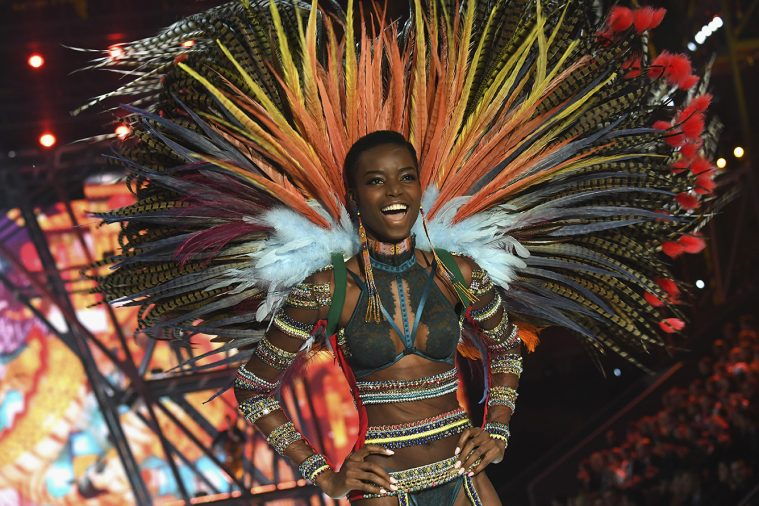 PARIS, FRANCE - NOVEMBER 30: Maria Borges walks the runway at the Victoria's Secret Fashion Show on November 30, 2016 in Paris, France. (Photo by Pascal Le Segretain/Getty Images for Victoria's Secret)