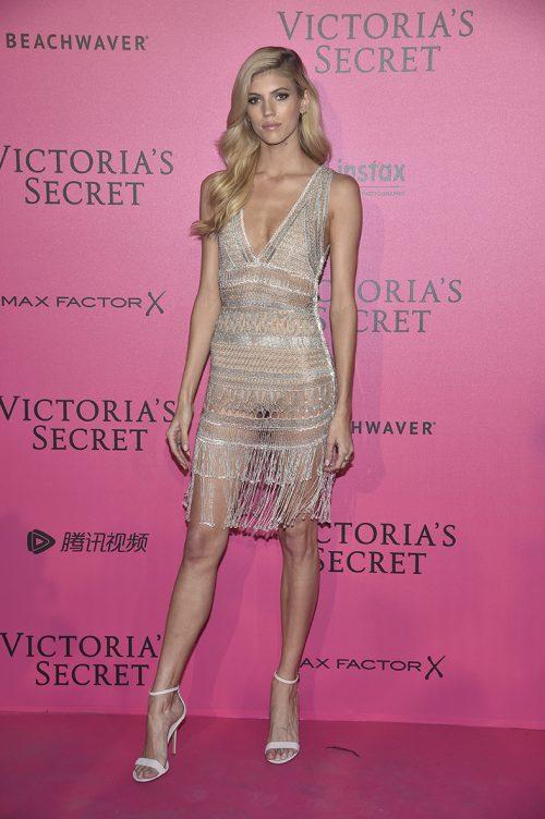 PARIS, FRANCE - NOVEMBER 30: Devon Windsor attends the 2016 Victoria's Secret Fashion Show after party on November 30, 2016 in Paris, France. (Photo by Pascal Le Segretain/Getty Images for Victoria's Secret)