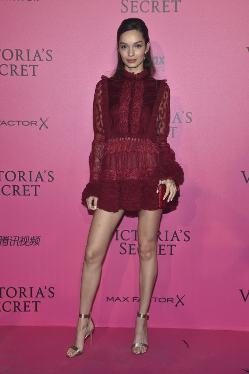 PARIS, FRANCE - NOVEMBER 30: Luma Grothe attends the 2016 Victoria's Secret Fashion Show after party on November 30, 2016 in Paris, France. (Photo by Pascal Le Segretain/Getty Images for Victoria's Secret)